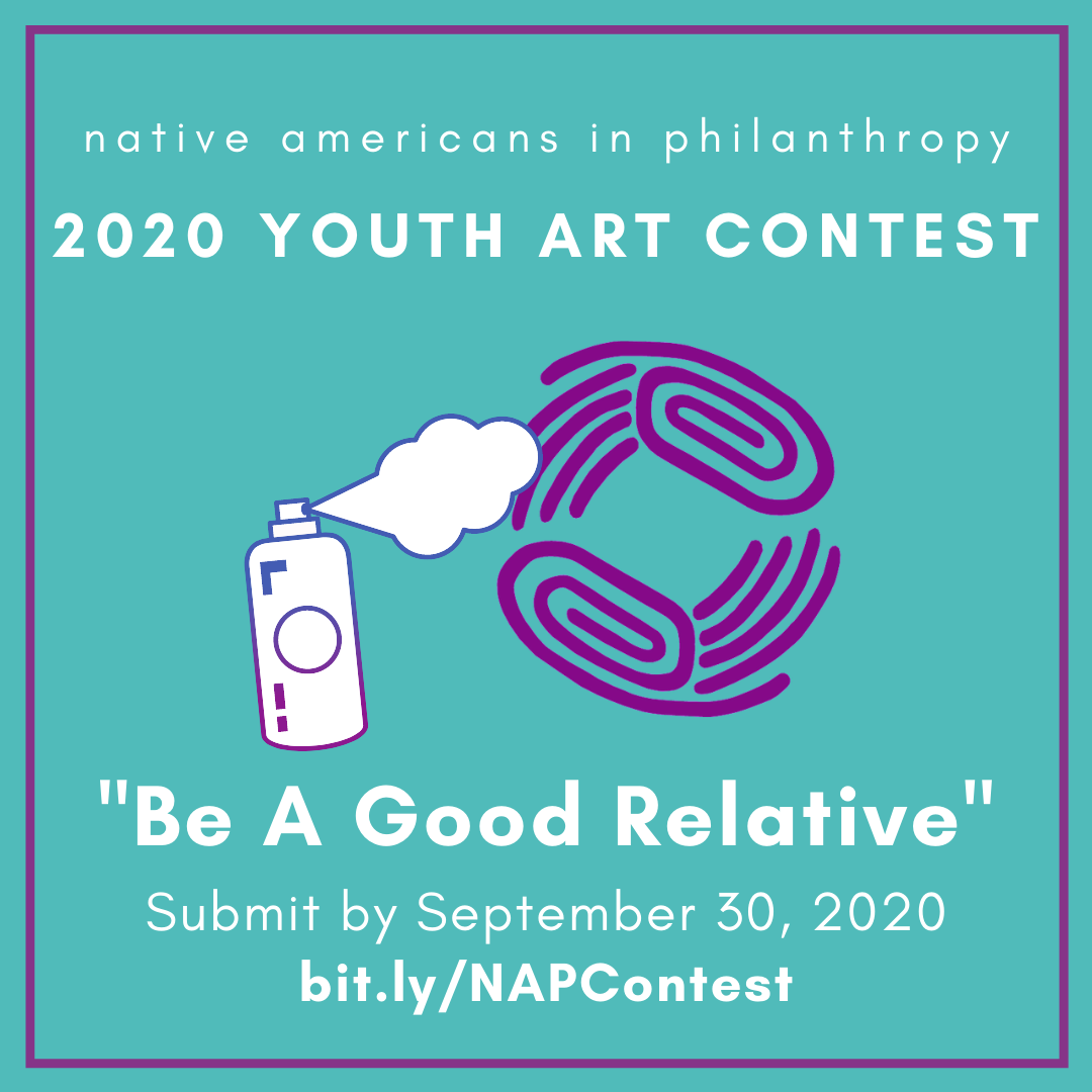 2020 Native Americans in Philanthropy Youth Art Context